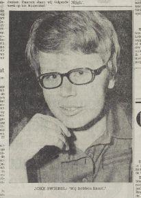 Joke Swiebel in 1969 'We hebben haast...'